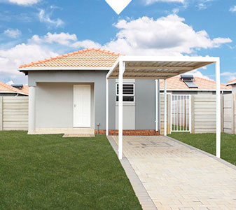 Kirkney Estate Home with driveway and carport